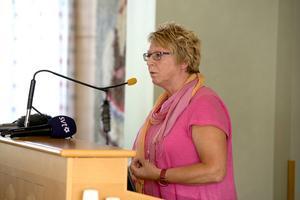 Timrås kommunalråd Ewa Lindstrand har varit framgångsrik i att förbättre företagsklimatet i kommunen.