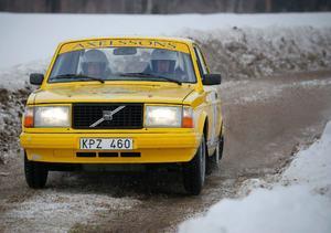 Ola Axelsson/Tommy Sjödin, Västerås i Klassiska rallybilar