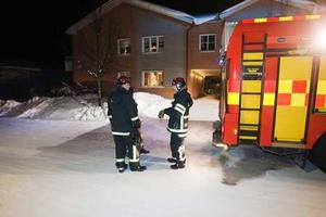 När räddningstjänsten väl var på plats gick det snabbt att släcka branden. Men hade det dröjt en stund till hade lägenheten lika gärna ha kunnat bli helt övertänd.