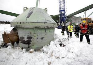 Den gröna plåtkonen ska rivas och gnistor från skärbrännaren startade en brand i kulverten.