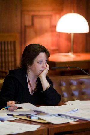 Karin Thomasson, MP, ordförande för kultur- och fritidsnämnden.