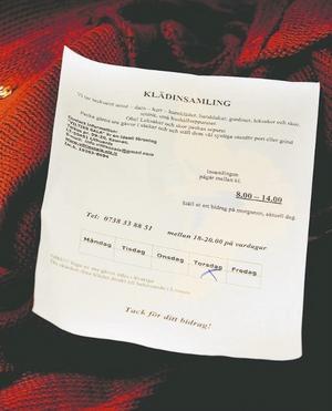 Svensk insamlingskontroll varnade redan för ett år sedan för Vilties Salas insamlingar.