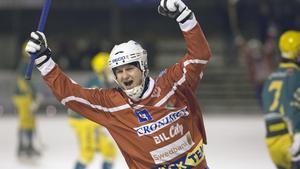 Sergey Likhachev gjorde tre mål mot Skutskär.