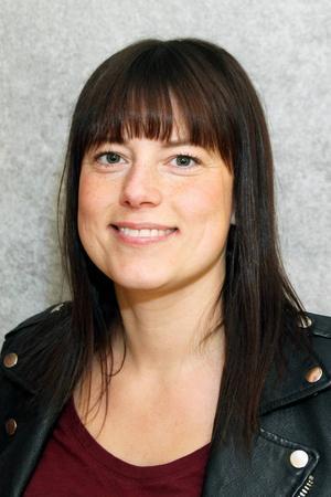 Helena Larsson står först på V:s lista i Härjedalen och finns även på riksdagslistan.