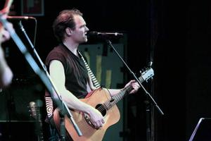 Jens Ganman spelade tillsammans med sitt Eastwick.