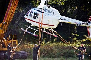 Rånet mot G4S:s värdedepå i Västberga i södra Stockholm genomfördes strax efter klockan fem på morgonen den 23 september. En helikopter som stulits en stund tidigare i Norrtälje släppte av rånarna på taket till säkerhetsföretaget.