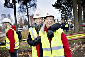 Kerstin Almén och Lena Åman.