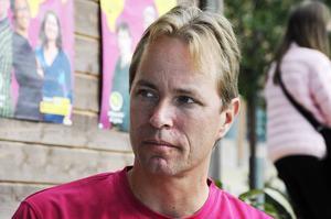Jonas Eriksson är Miljöpartiets talesperson inom företagsfrågor.