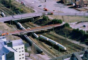 Gasololyckan i centrala Borlänge år 2000.