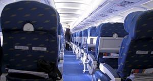 Sätena längst bak var säkrast när man nyligen provkraschade ett flygplan.