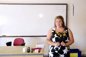 """""""Det blir mycket bättre för oss att hålla till på samma ställe. På så sätt blir organisationen mer flexibel"""", säger Helene Kristoffersson, biträdande rektor och SFI-lärare."""