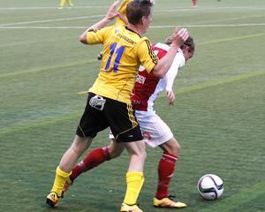 Söderhamn lät inte Sandviken få några enkla poäng utan stod upp nästan hela matchen.