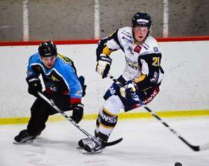 Fredrik Persson och hans S/L var skäret efter i mötet med Borlänge.