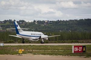 16:40 Avgång från Härjedalen Sveg Airport till Stockholm Arlanda.