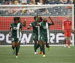 Nigeria jublade mest över det oavgjorda resultatet.
