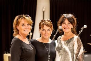 Cecilia Holmlund, Viveca Eriksson och Camilla Kastberg.