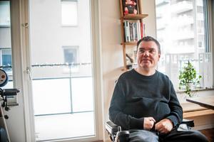 Andreas Thörn använde cannabis för att lindra sina smärtor. På måndagen väntas besked i ärendet som har pågått sedan januari 2015. Foto: Cassandra Grönlund