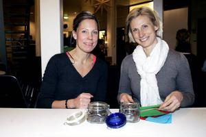 Therese Nordfeldt och Sophie Schelin fick beröm för sitt ekologiska hundgodis, som nog inte har en framtid som tilltugg för människor.