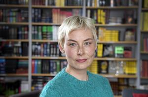 Finländska författaren Laura Lindstedt, aktuell med den hyllade boken