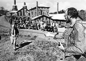 1987 Den stora vreden spelades i gasklockorna.