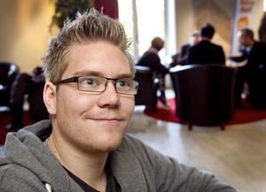 Att själv få styra och ställa i ett eget företag lockar Fredrik Wennerberg.