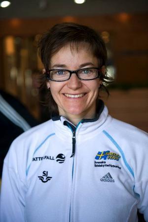Anna Carin Olofsson Zidek, 36 år, Lillhärdal:– Nej, tyvärr kommer jag inte att göra det. Jag känner att jag inte har haft tid att sätta mig in i det här, jag har inte hunnit med att förtidsrösta och på söndag åker jag till Tyskland, på landslagsläger.