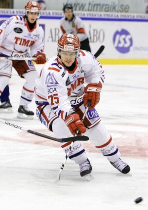Toni Mäkiaho, en värvning som inte föll ut som Stefan Lindqvist hoppats.