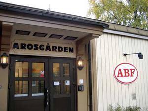 Från bildning till bostäder. ABF lämnar Arosgården, i stället byggs bostäder.FOTO: JOHAN LIF/VLT ARKIV