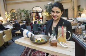 Platschef Helga Åberg på Orangeriet som nu slår igen sin verksamhet med latinamerikansk och asiatisk tacos.