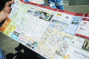 Hur mycket varje kommun har redovisat att de lägger på turistverksamhet skiljer sig mycket åt.