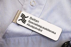 Bettan, som Elisabet Wahlbäck kallas av de flesta på jobbet, är länets första specialistsjuksköterska i akutsjukvård.
