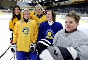 Caroline Markström, här på en bild från 2010 när hon spelade med Wildcats.