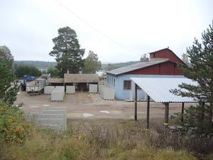 Blixbo cementvarufabrik i Karlsbyheden utanför Falun.
