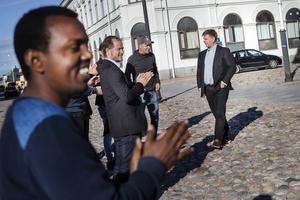 Kommunalrådet Sven-Erik Lindestams utbringade ett fylfaldigt leve vilket följdes av långa applåder från den samlade publikskaran.