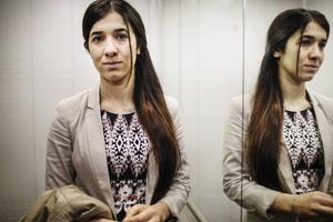 Nadia Murad Basee Taha, på bilden, samt Lamiya Aji Bashar är mottagare av årets Sakharovpris – Europaparlamentets pris för tankefrihet. Dessa kvinnor har båda, liksom över 6 000 andra yazidiska kvinnor, levt som sexslavar under fångenskap av Daesh/IS, skriver Liberalernas Europaparlamentariker Cecilia Wikström.