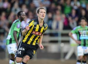 Den här säsongen har Martin Ericsson spelat mycket. Tidigare säsonger har han varit skadedrabbad men nu har han bara missat tre matcher på grund av en lättare bristning.
