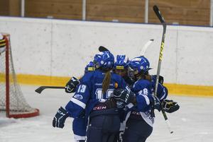 Leksand fick jubla flest gånger mot Sundsvall.