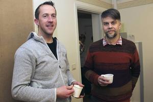 Krister Golsäter och Peter Lindqvist är redd för volontärsjobb.