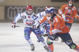 Axel Ekholm mot Bollnäs på Sävstaås under säsongen som gick.