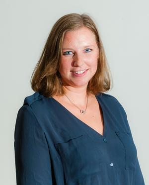 Maria Jönsson, meteorolog på Foreca.