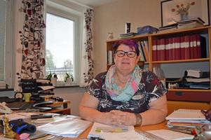 Christina Stam, rektor på Forssaängskolan.
