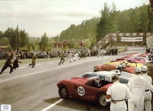 I de flesta loppen gällde Le Mans-start, då förarna ställdes upp på cirka tolv meters avstånd från bilarna, som stod med avstängda motorer och dörrarna stängda.