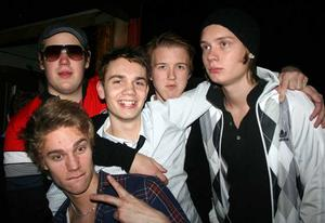Konrad. Emil, Linus, Simon, Micke och Glenn