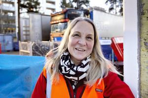 Lena Åman, ordförande i Sandvikenhus.