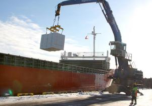 Hamnen i Norrsundet är en av hamnarna som får ta del av investeringen från Inlandsinnovation.