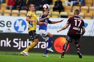 GIF Sundsvall är i en djup svacka, men backen Eric Larsson kommer ändå med i Norrlandselvan som enda GIF-spelare.