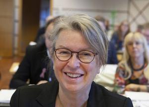 Gunilla Fluur, talesperson för Västra Initiativet i Sollefteå.
