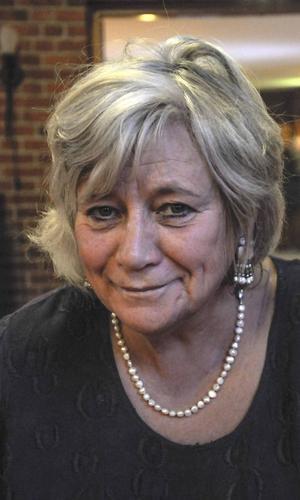 Margareta Winberg (S) kyrkorådets ordförande.