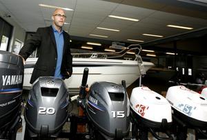 Yamaha Marine Store är världens största återförsäljare av Anytec. – Att ett varumärke går i konkurs är aldrig bra, säger Norrtäljebutikens vd Joakim Mellqvist.