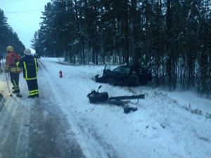 Trafikolyckan på tisdagen söder om Sveg krävde ett dödsoffer.